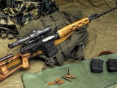 SVD Dragunov - legendární odstřelovací puška, která je dodnes používaná v naší armádě