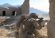 Velmi ostré záběry amerických mariňáků proti Talibánu