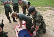 Příprava občanů k obraně – základy první pomoci