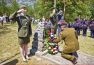 Znojemské Němčičky si připomněly padlou posádku RAF