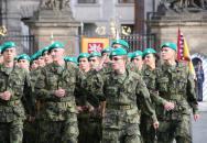 Vojenská přísaha nových studentů Univerzity obrany