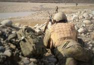 "V operaci ""Hladový lev"" Češi pátrali po povstalcích v okolí Bagrámu"