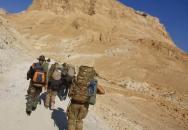 Operace Izrael - brutální kopec Masada