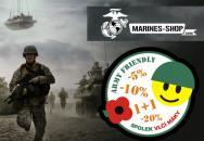 Army Friendly: Nově 5 % sleva na celou řadu špičkové výstroje v Marines Shop