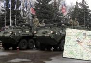 Průjezd amerického konvoje přes ČR - Dragoon Ride