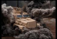 Ani americký obrněný vůz MRAP nevydrží všechno - totální destrukce