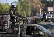 Brutální přestřelka Mexické armády a drogového kartelu v ulicích města