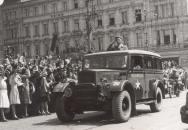 Rota Nazdar: Se lvem na blatníku – připomínka návratu vojáků ze západní fronty