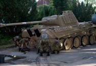 Německý důchodce ukrýval ve sklepě legendární druhoválečný tank Panther