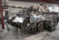 Německý druhoválečný tank Pz. V Panther v pohybu