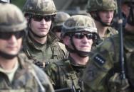 Vojáci a policisté na společném cvičení na ochranu našich hranic