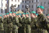 Vojenská přísaha nových studentů Univerzity obrany 2015