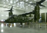 Zelený MV-22 Osprey