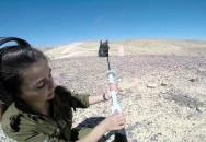 Výcvik příslušníků IDF s různými typy zbraní