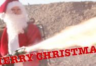 Rotační kulomety, plamenomety a Veselé Vánoce....