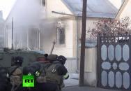 Ruský způsob zneškodnění zabarikádovaného zločince
