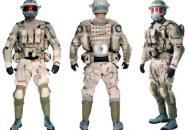 Plastické displeje pro vojáky blízké budoucnosti