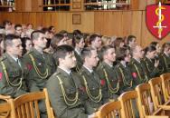 Slavnostní vyřazení absolventů Fakulty vojenského zdravotnictví Univerzity obrany Hradec Králové