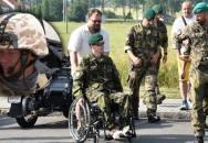 Zdravotní handicap je sítem na kamarády, říká válečný veterán Lukáš HIRO Hirka