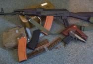 AK-74 – modernizovaný bráška staré legendy, střelba slow motion