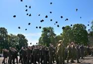 Slavnostní vyřazení vojenských absolventů Univerzity obrany 2016
