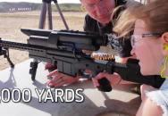Díky technologii může být sniperem i malá holčička - 4 výstřely, 4 zásahy a to bez výcviku. Jak to?