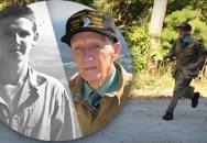 Paragán ze 101. výsadkové divize Jim Martin si ve svých 92 letech zaběhl Currahee!