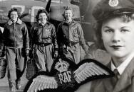 Odhalena první pamětní deska příslušnici WAAF, Joy Kadečkové, rozené Turner, ovdovělé Mžourkové