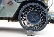 Nový typ armádních pneumatik