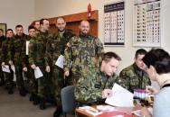 Na 100 elitních libereckých vojáků nabídlo svou kostní dřeň. Nechali se zapsat do registru dárců