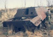 Rekonstrukce německého stíhače tanků Jagdpanzer