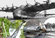 Po stopách Me 323 druhoválečných Gigantů. Kusy těchto obřích letadel jsou na Skutečsku dodnes