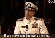 Motivační řeč admirála US Navy