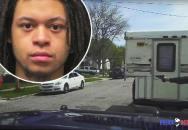 Mladík v podmínce začal bezhlavě pálit na policisty, ti velmi rychle odpověděli