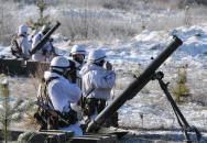 Vojáci z Hranic vyzkoušeli Tatry a nacvičovali reálné nasazení minometné baterie