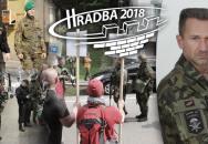Cvičení HRADBA 2018 bylo výrazně vyšší 'level'