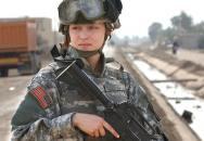 Speciální bojové vybavení pro vojákyně