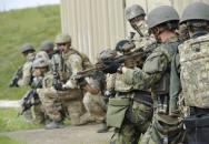 Ostré bojové střelby 601. skupiny speciálních sil