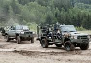 Speciální vozidla RDV Cheetah a LRPV Cheetah na podvozku Toyota