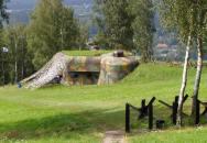 Československé pěchotní sruby na Králicku