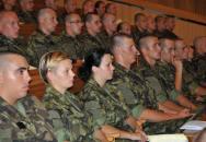 Zahájení studia posluchačů kariérových kurzů na Univerzitě obrany