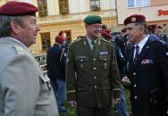 Návštěva členů Klubů generálů ČR a SR na Univerzitě obrany