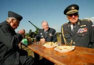Oslava 95. narozenin brigádního generála Štandery