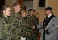Slavnostní imatrikulace nových studentů Univerzity obrany