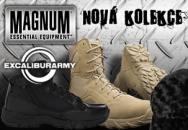 SOUTĚŽ: s EXCALIBUR ARMY o výrobky značky MAGNUM - UKONČENA