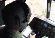 Taktický výsadek na hřebenech hor z vrtulníků Mi-17 Vzdušných sil AČR