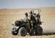 Použití čtyřkolek útvarem SOG v Afghánistánu část I.