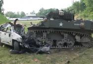 Pořádné testování amerického tanku