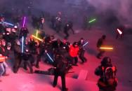 Demonstrace na Ukrajině (Útok temné strany síly)