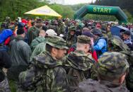 Vojenský pochod 2014 s podporou AČR